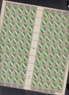FranzZ. 1 Bx, Bogen (2x5x10), Korrigierte Bogennummer !, Postfrisch **, 10x 1 Bx ZW, Mit Abart, 1 Bx Br U (16.8.1946) - Zona Francese