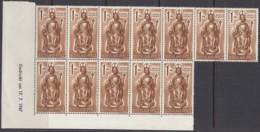 FranzZone, RHEINLAND-PFALZ 15 Yv, 12erEinheit, Postfrisch **, Mit 2 X Type II, 15 Yv Br U (17.7.1947) Mit PF 15 III + IV - Zona Francese