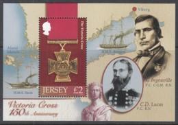 JERSEY  Block 53, Postfrisch **, 150 Jahre Viktoriakreuz, 2006 - Jersey