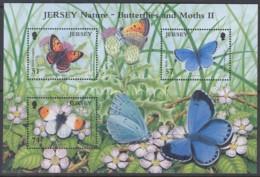 JERSEY  Block 58, Postfrisch **, Schmetterlinge, 2006 - Jersey