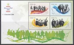 IRLAND  Block 62 II, Postfrisch **, Irische Musikgruppen, Mit Zudruck: MONACO-PHIL 2006, 2006 (Nominale 2,46 Euro) - Blocks & Sheetlets