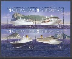 GIBRALTAR  Block 73, Postfrisch **, Kreuzfahrtschiffe, 2006 - Gibraltar