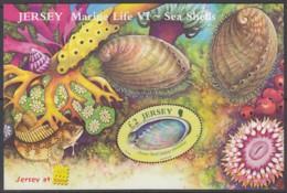 JERSEY  Block 55, Postfrisch **, Meeresfauna (VI): Muscheln Und Meeresschnecken, 2006 - Jersey