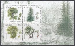 IRLAND  Block 58, Postfrisch **, Fauna Und Flora: Bäume, 2006 (Nominale 2,83 Euro) - Blocks & Sheetlets