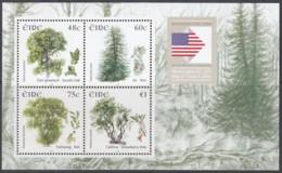 IRLAND  Block 58 I, Postfrisch **, Fauna Und Flora: Bäume, 2006 (Nominale 2,83 Euro) - Blocks & Sheetlets