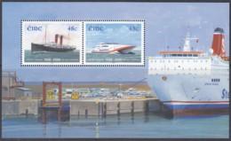 IRLAND  Block 59, Postfrisch **, 100 Jahre Fährverbindung Zwischen Rosslare Und Fishguard, 2006 (Nominale 0,96 Euro) - Blocks & Sheetlets