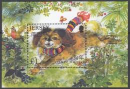 JERSEY  Block 54, Postfrisch **, Chinesisches Neujahr - Jahr Des Hundes, 2006 - Jersey