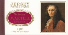 "JERSEY, Markenheftchen 2, Postfrisch **, ""The Story Of Martell Cognac"", Historische Verbindung 1982 - Jersey"