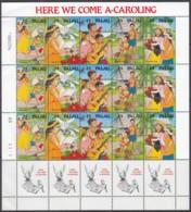 PALAU 397-401, Kleinbogen, Postfrisch **, Weihnachten 1990 - Palau