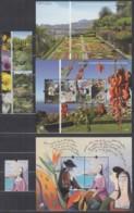 MADEIRA  Jahrgang 2010, Postfrisch **, 300-303, 306 + Block 46-48 - Madère