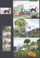 MADEIRA  Jahrgang 2013, Gestempelt, 324, 326-329 + Block 55-57 - Madère