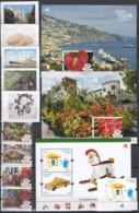 MADEIRA  Jahrgang 2015, Postfrisch **, 345-353, 356 + Block 61-63 - Madère