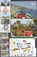 MADEIRA  Jahrgang 2015, Gestempelt, 345-353, 356 + Block 61-63 - Madère