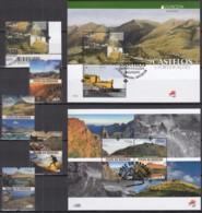 MADEIRA  Jahrgang 2017, Gestempelt, 371, 373-376 + Block 67+68 - Madère