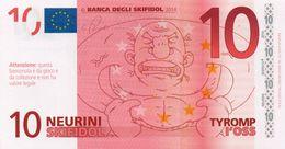 EURO-10 NEURINI-SKIFIDOL-2014 EMISSIONI DI  FANTASIA-UNC- Fantasy Issue - EURO