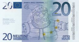 EURO-20 NEURINI-SKIFIDOL-2014 EMISSIONI DI  FANTASIA-UNC- Fantasy Issue - EURO