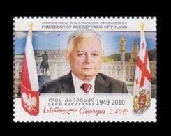 Georgia 2020 Mih. 743 President Of Poland Lech Kaczynski MNH ** - Géorgie
