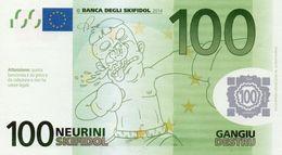 EURO-100 NEURINI-SKIFIDOL-2014 EMISSIONI DI  FANTASIA-UNC- Fantasy Issue - EURO
