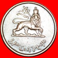 ·LION ★ETHIOPIA★ 10 CENTS EE1936 (1943-1944)! LOW START★ NO RESERVE - Etiopía