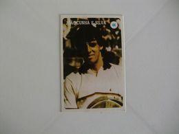 Tennis Tenis João Cunha E Silva Portugal Portuguese Pocket Calendar 1986 - Calendari