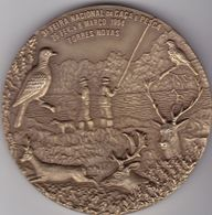 Portugal -Torres Novas Medalha  Caça E Pesca Março 1994 - Pesca
