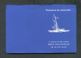 """Porte Cartes Publicitaire """"Pharmacie De Jullouville"""" Manche - Normandie - Andere Sammlungen"""