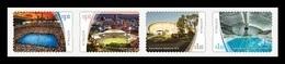 Australia 2020 Mih. 5093I/96I Stadiums (II). Tennis. Cricket. Football. Cycling. Swimming (self-adhesive) MNH ** - Mint Stamps