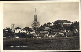Cp Kanton Freiburg Fribourg, Chatel Saint Denis - FR Fribourg