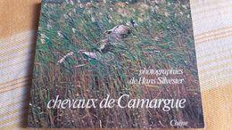 LIVRE SUR LES CHEVAUX DE CAMARGUE ED DU CHENE PHOTOS DE HAN SILVESTER  100 PAGES ENVIRONS FORMAT 21 PAR 25 CM 1975 - Livres, BD, Revues