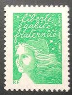 Variété - N° 3535Aa Marianne De Luquet- (sans Valeur) Vert-  Sans Bande De Phosphore - Varieteiten: 2000-09 Postfris