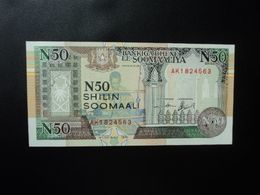 SOMALIE * : FORCES DU NORD DE MOGADISHIO : 50 SHILIN = 50 SHILLINGS   1991     P R2      NEUF - Somalia