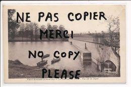 ♥ Carte De VANDENESSE Le Réservoir Du Tillot Vue Sur La Digue ( Peu Courante ) ( Recto Verso ) - France