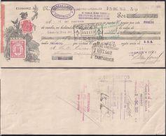 España - Castro-Urdiales - Pagaré - Eduardo Diez Del Sel - 1935 - Cygnus - Espagne