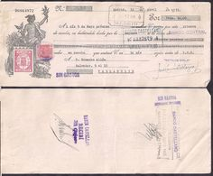 España - Madrid - Pagaré - Banco Central - 1935 - Cygnus - Espagne