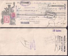 España - Valladolid - Pagaré - Banco De Bilbao - 1935 - Cygnus - Espagne