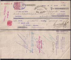 España - Bilbao - Pagaré - Banco Urquijo - 1937 - Cygnus - Espagne