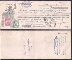 España - Barcelona - Pagaré - Banco Comercial De Barcelona - 1935 - Cygnus - Espagne