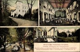 Cp Hohenstein Ernstthal Landkreis Zwickau, Ausflugsort Mineralbad, Konzertgarten, Ballsaal, Kurhaus - Germany