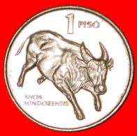 · BULL: PHILIPPINES ★ 1 PISO 1994 MINT LUSTER! LOW START ★ NO RESERVE! - Philippines