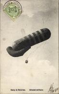 Cp Camp De Beverloo, Aérostat Militaire, Militärischer Fesselballon, Beobachtungsballon - Vliegtuigen