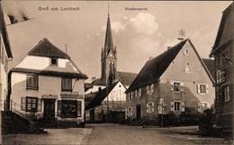 Cp Lembach Elsaß Bas Rhin, Straßenpartie, Kirchturm, Kaiser's Geschäft - France