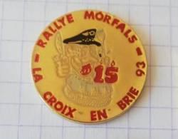 Pin's - Moto-Club Harley-Davidson - 15e Rallye Morfals - La Croix En Brie - Motos