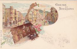 STERZING-VIPITENO-BOZEN-BOLZANO-GRUSS AUS-CARTOLINA NON VIAGGIATA-ANNO 1898-1904 - Bolzano (Bozen)