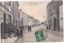 Dépt 44 - NORT-SUR-ERDRE - Rue De La Barre - Animée - Nort Sur Erdre