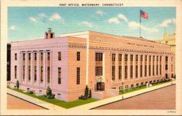 Connecticut Waterbury Post Office 1938 - Waterbury