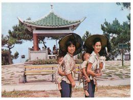 (B 1) Hong Kong Lama-Chaux (with Stamp) - Chine (Hong Kong)