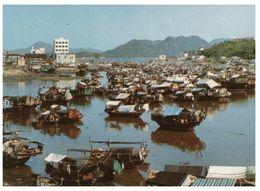 (B 1) Hong Kong Sai Kung Fishing Villlage - Chine (Hong Kong)