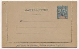 MAYOTTE - Entier Carte Lettre 15c CL1, Neuve - Entiers Postaux & Prêts-à-Poster