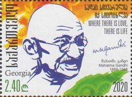 Georgia 2020 Mi# 740 Mahatma Gandhi * * - Géorgie