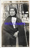 136607 CHILE CAUTIN COSTUMES NATIVE INDIA ARAUCANA POSTAL POSTCARD - Chili